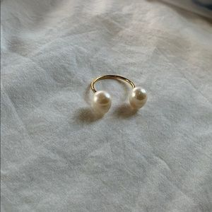 ERTH Jewelry Peal Ring